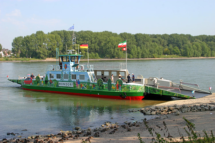 Rheinfähre Mondorf
