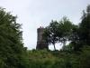 Dronketurm vom Gemündener Maar aus gesehen