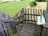 Holztreppe des Aussichtsturms