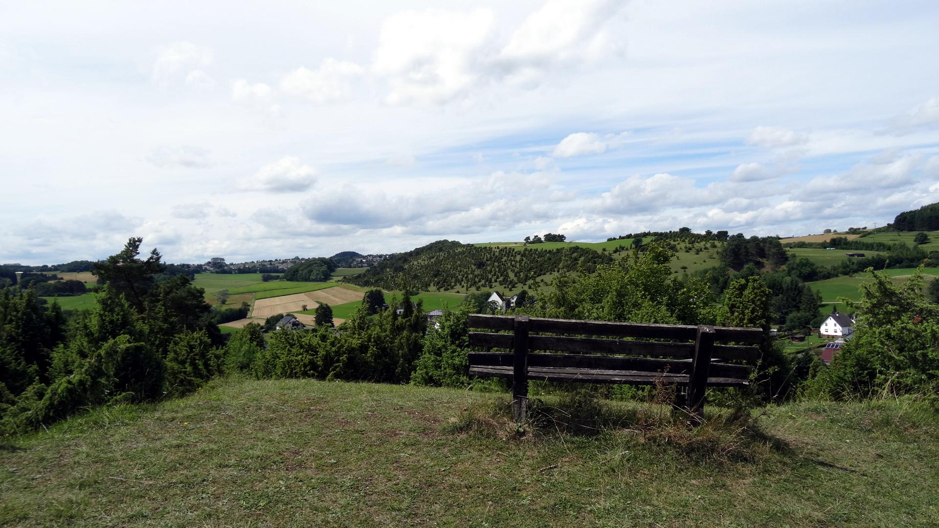 Calvarienberg Ausblick auf die Wacholderheide
