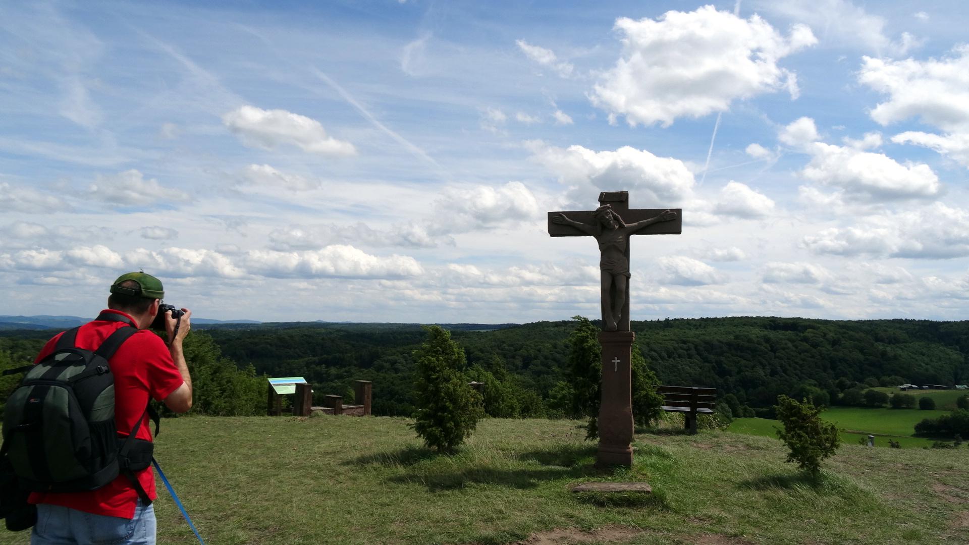 Gipfel mit Kreuz