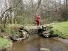 Natursteinbrücke über die Kall