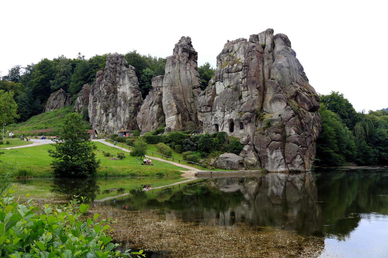 Wxternsteine Teich