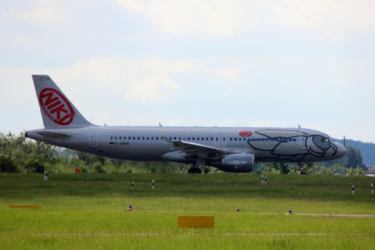Airplane Niki Airline
