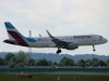 Airplane Eurowings Touchdown