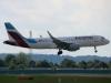 Airplane Eurowings Touchdown