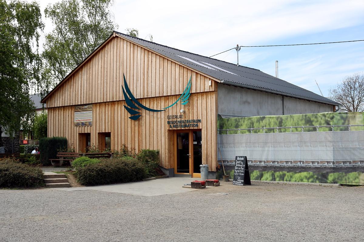 Besucherzentrum an der Geierlay