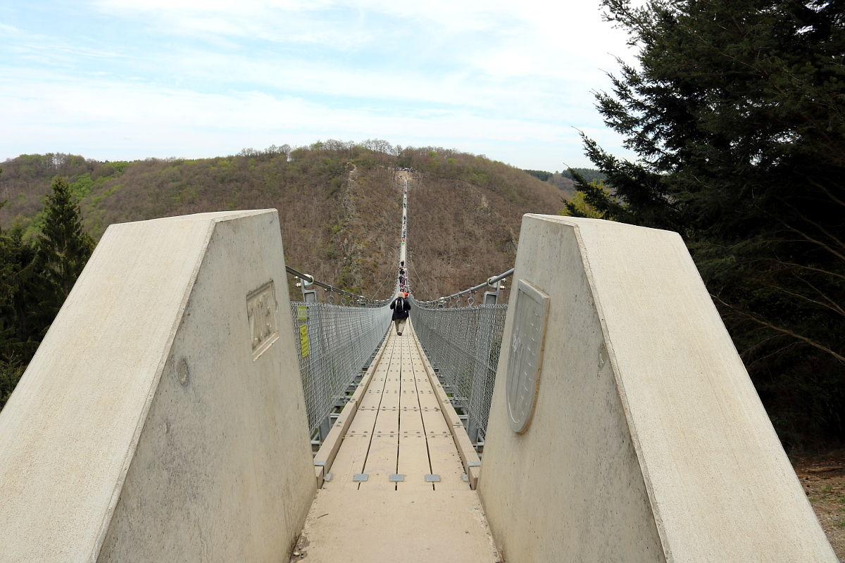 Zugang zur Brücke