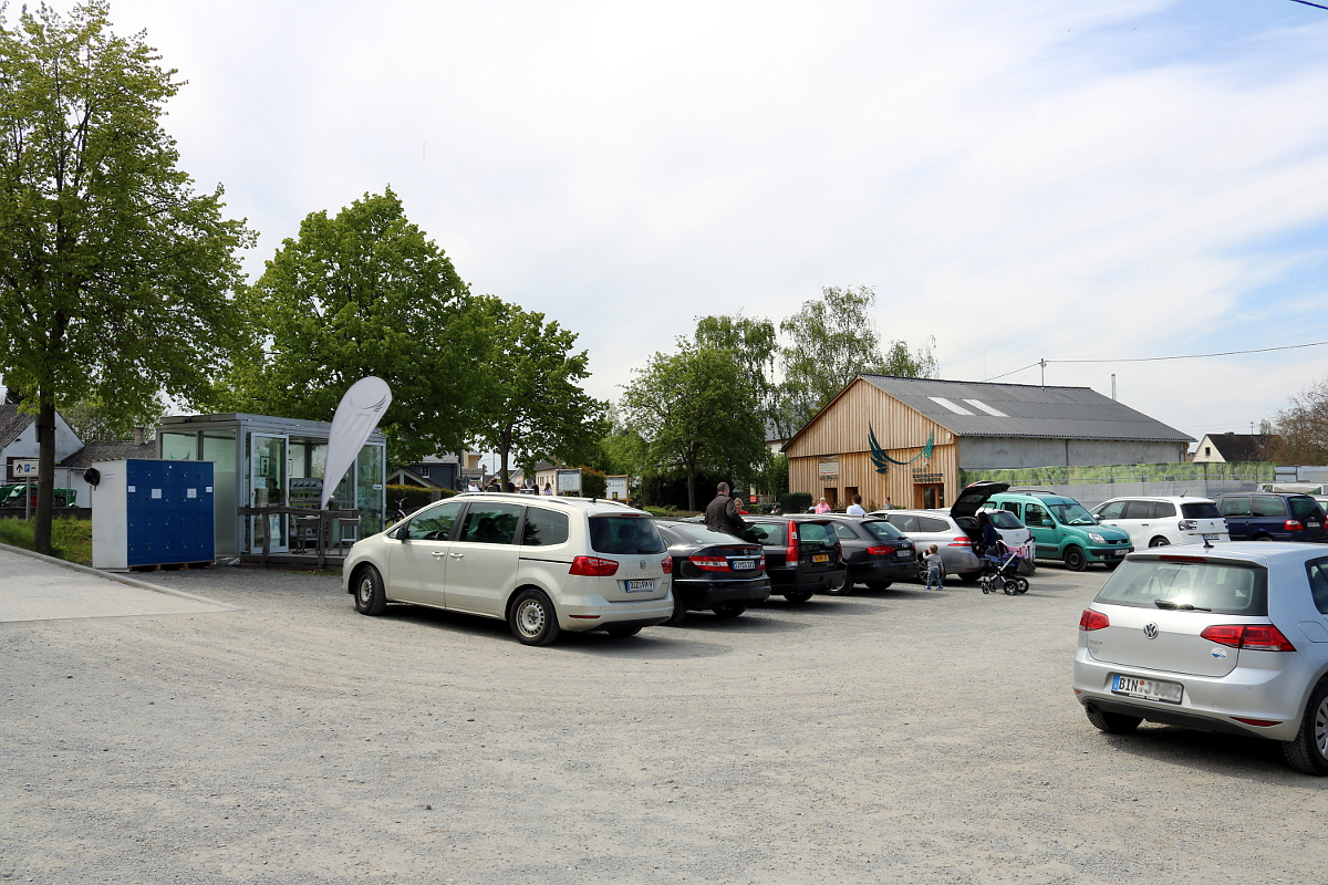 Parkplatz am Besucherzentrum