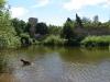 Wassergraben an der Hardtburg