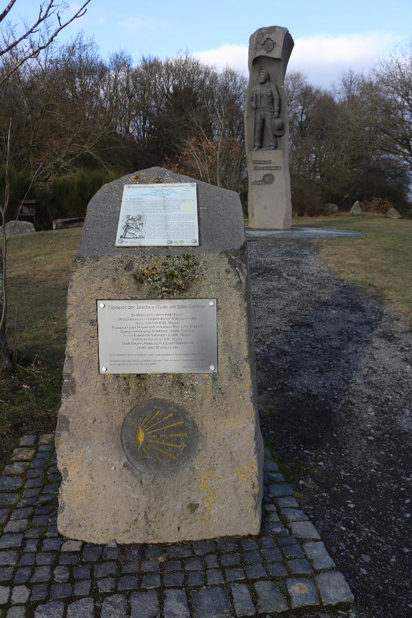 Jakobus-Säule Wegweiser