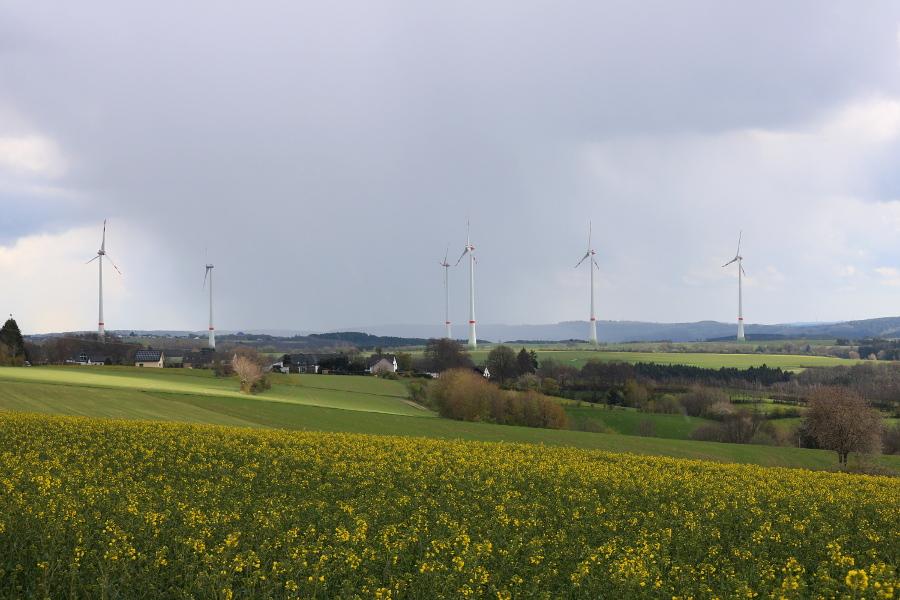 Eifel Landschaft in Dreiborn