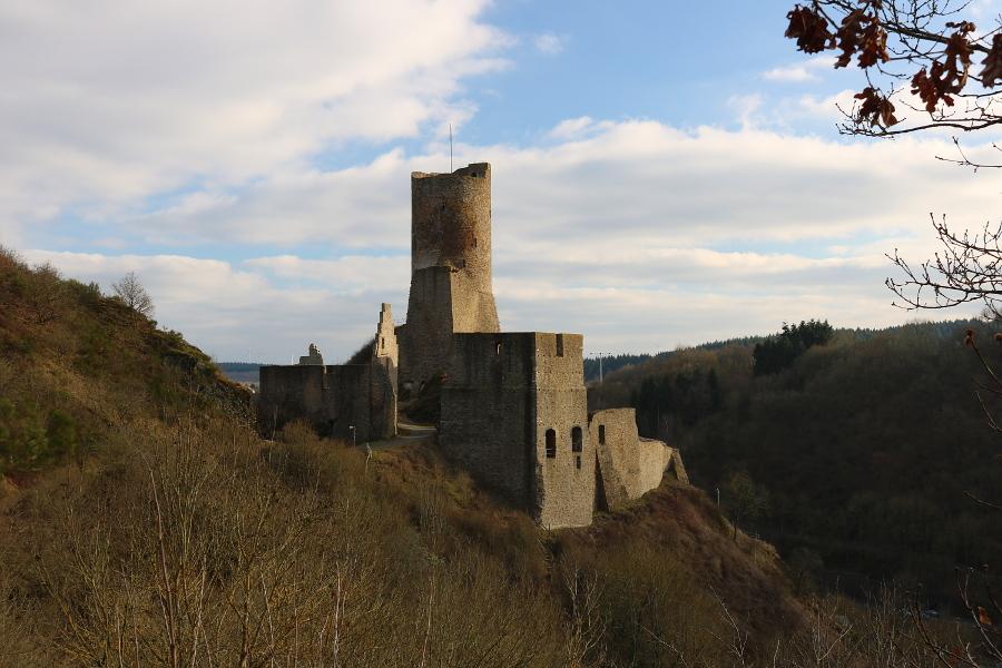 Löwenburg in Monreal