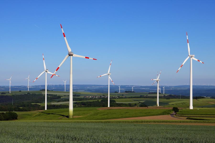 Windpark bei Kaisersesch