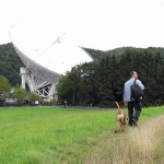 Auf dem Weg zum Teleskop