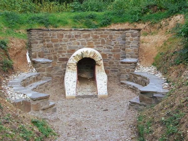 Römische Wasserleitung in Buschhoven