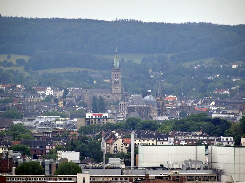 Ausblick auf Aachen vom Haarberg